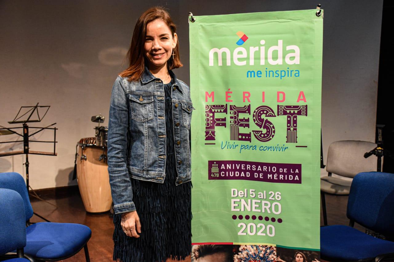 Mujeres le cantarán a Mérida
